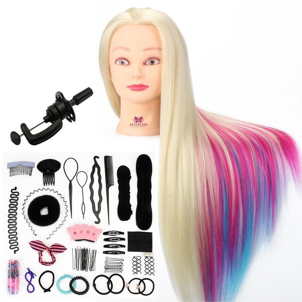 manikinhead, Head, dummyhead, Colorful