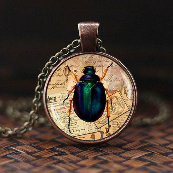 Clothing & Accessories, insectjewelry, bugnecklace, men women