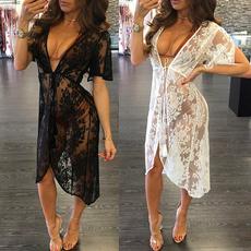 Summer, Lace, ladiessummerbeachdre, Dress