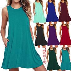 Summer, Fashion, halter dress, Necks
