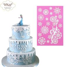 snowflakemold, Silicone, partycakemold, cakedecorationmould
