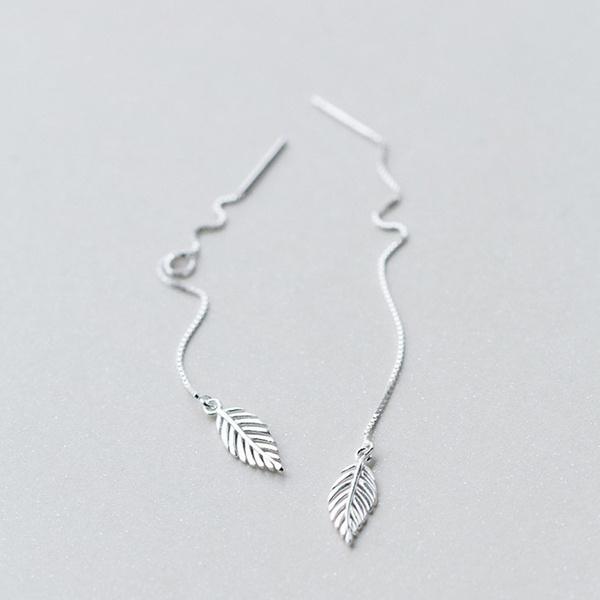 Sterling, Tassels, Dangle Earring, Silver Earrings