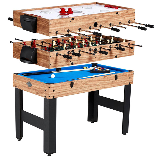 tabletopsoccercompetitiontable, hoverairhockeytable, arcade, bowlingpinsgameset