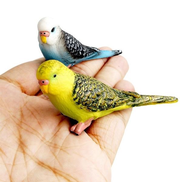 succulentsdecoration, parrotfigure, miniresincraft, Home Decor