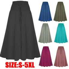 long skirt, Plus Size, Lace, floorlengthskirt