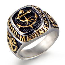 Men Jewelry, ringsformen, Goth, Fashion