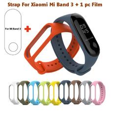 Wristbands, xiaomimiband3bracelet, Silicone, filmforxiaomimiband3
