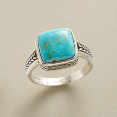 Blues, Sterling, Turquoise, Fashion