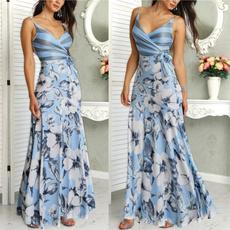 slim dress, fashion women, Fashion, Floral