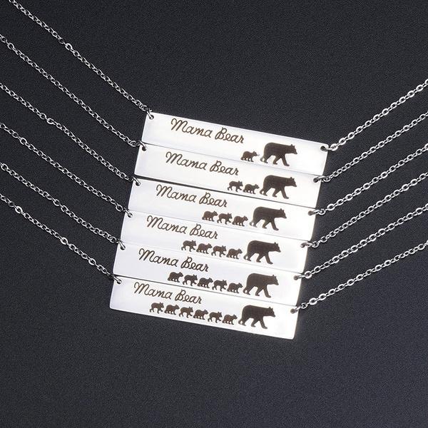 Necklace, mamabear, motherdaysgift, Gifts