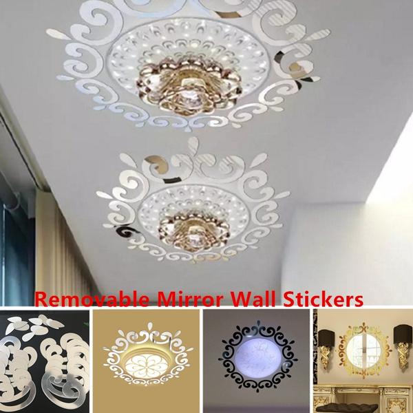 mirrorswallsticker, Wall Art, Home Decor, Home & Living