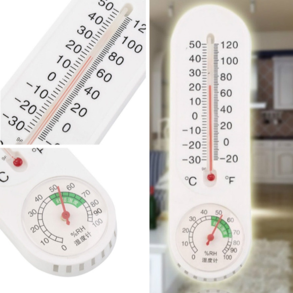 homemeasuretool, analogthermometerhygrometer, thermometerhygrometer, Home & Living