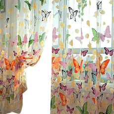 butterfly, dividercurtain, Home textile, bedroom
