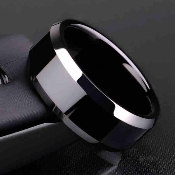 8MM, titanium steel, Stainless Steel, Jewelry