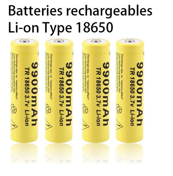 Flashlight, tr18650, Rechargeable, batterielithium