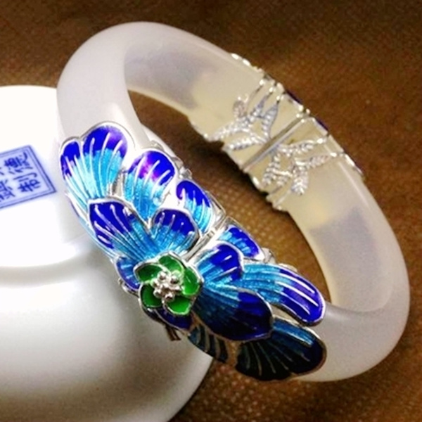 cloisonne, Set, Natural, Jewelry