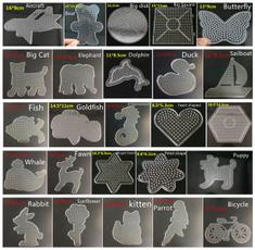 perlerbeadstemplate, Craft, Fun, Baby Toy