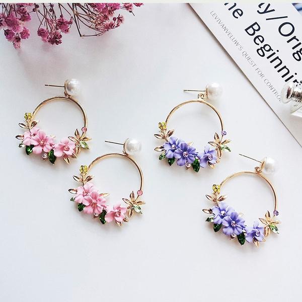 Fashion, Pearl Earrings, Exquisite Earrings, summerearring