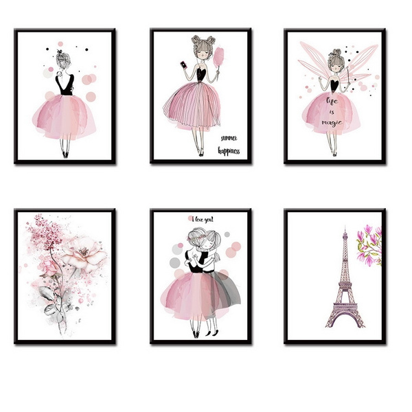 Kawaii, art print, Decor, Fashion