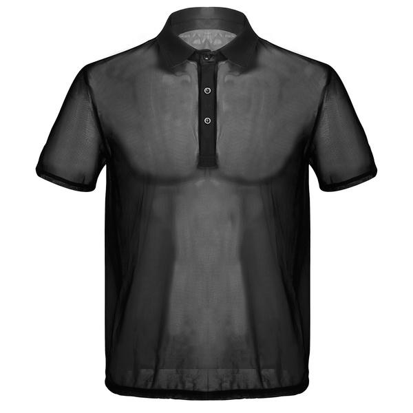 shortsleevestop, Funny T Shirt, See-through top, Shirt