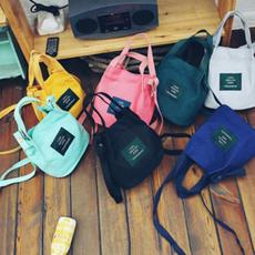 women's shoulder bags, Shoulder Bags, canvasbucketbag, Totes