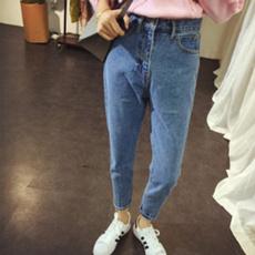 harem, trousers, high waist, high waist jeans