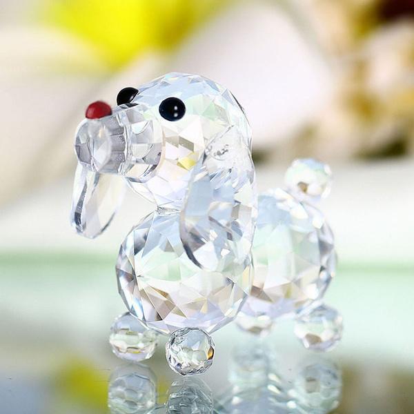 Mini, crystalglassdog, Home Decor, cute