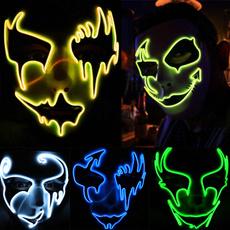led, partymask, Masquerade, Halloween Costume