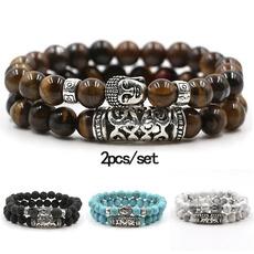 Charm Bracelet, Beaded Bracelets, Turquoise, Fashion