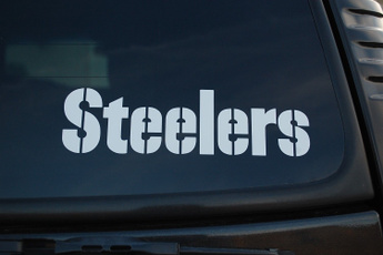 Steelers, Cars, Stickers, Football