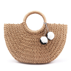 women bags, beachbag, strawbag, Summer
