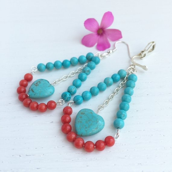 Turquoise, Bold, Gifts, Coral