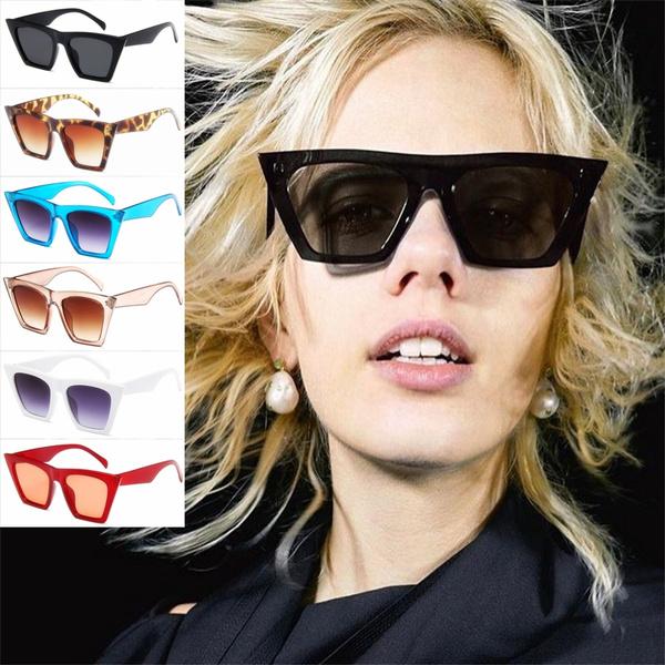 Women, retro glasses, Fashion, eye