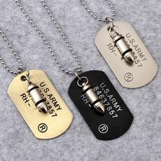 trendy necklace, Fashion, Jewelry, Army