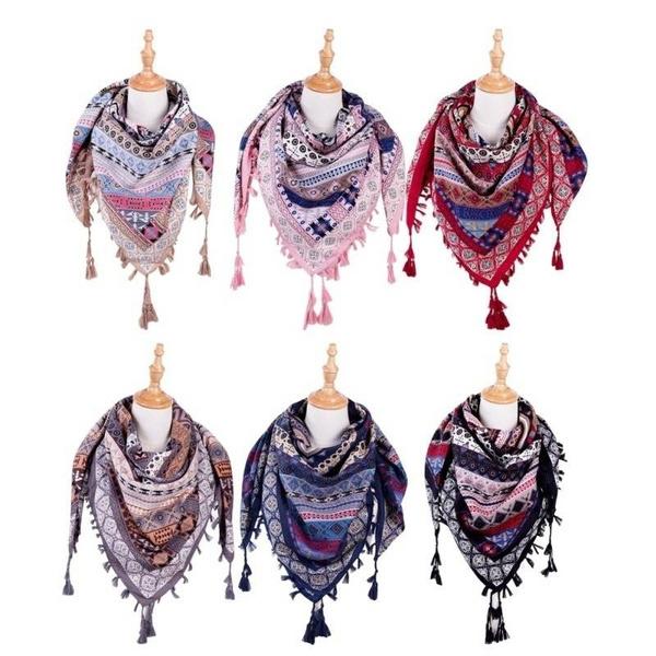 bohemia, Scarves, Fashion, Winter