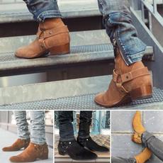 Shoes, Flats, Suede, men fashion