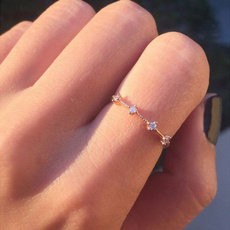 Cubic Zirconia, DIAMOND, Women Ring, Gifts