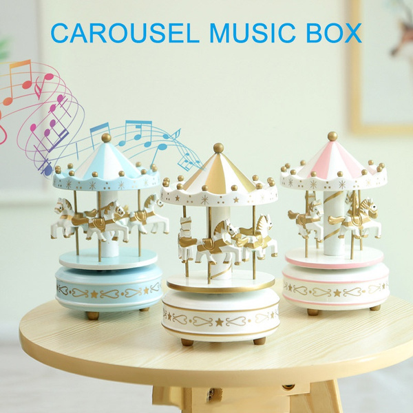 Box, horse, Toy, musicbox
