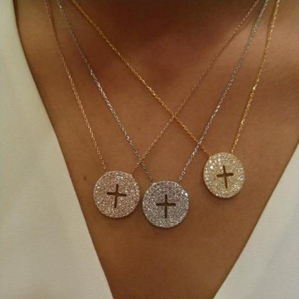 Fashion, Cross necklace, Cross Pendant, Women jewelry