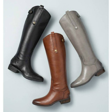 shoes for womens, leather shoes, long boots, fashoinboot