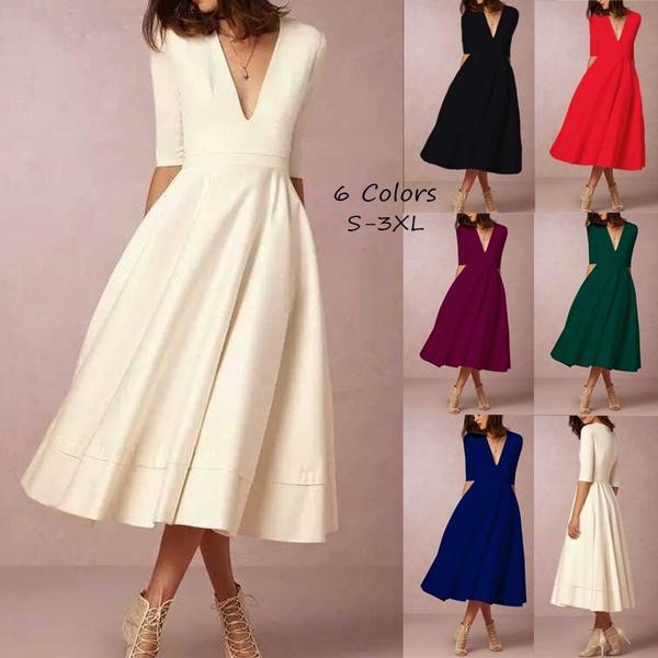 women dress, dotswingdre, Vintage, Dress