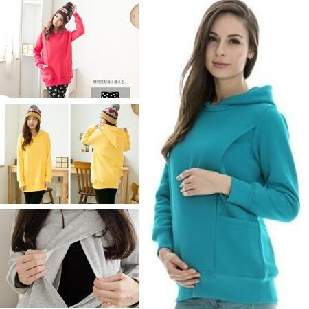Fashion, Winter, maternity hoodies, winter coat