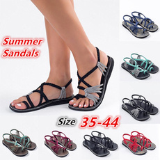 Summer, fashion women, flatslipper, Women Sandals
