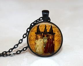 Jewelry, Glass, Halloween, Necklace