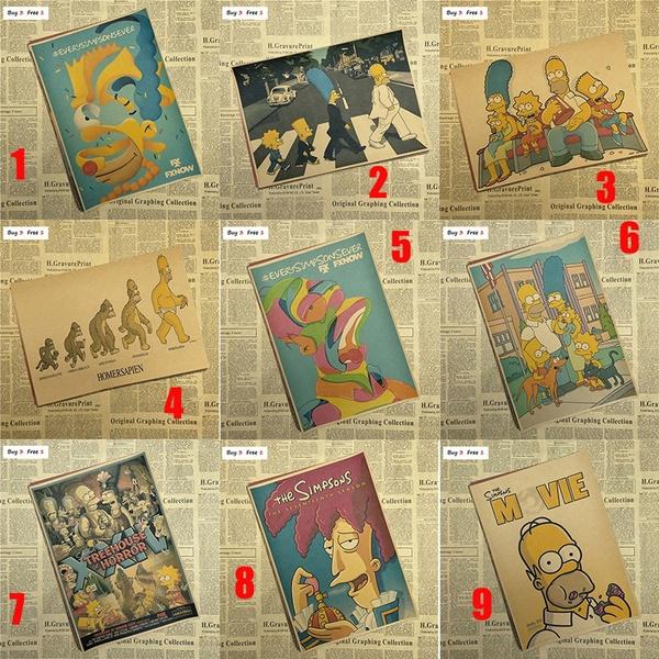 cartoonposter, nostalgiaposter, Home Decor, movieposter