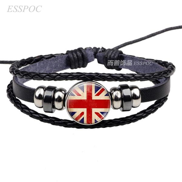 flagbracelet, Fashion, rope bracelet, Jewelry