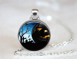 tile, Jewelry, Glass, Halloween