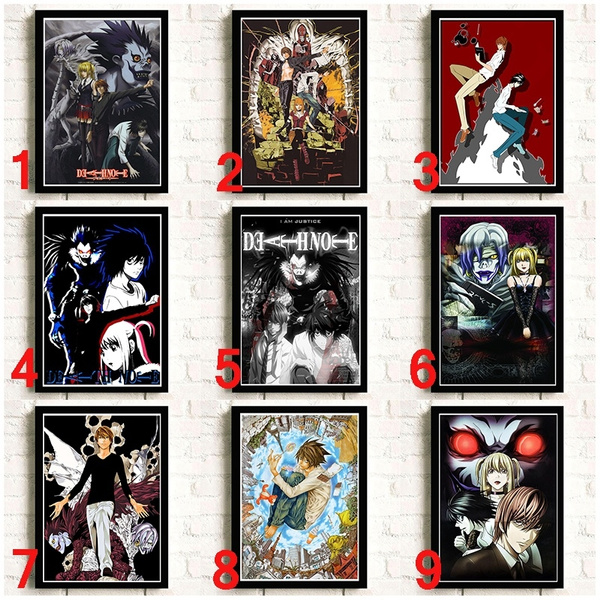 deathnote, moderndecorativepainting, Posters, Classics
