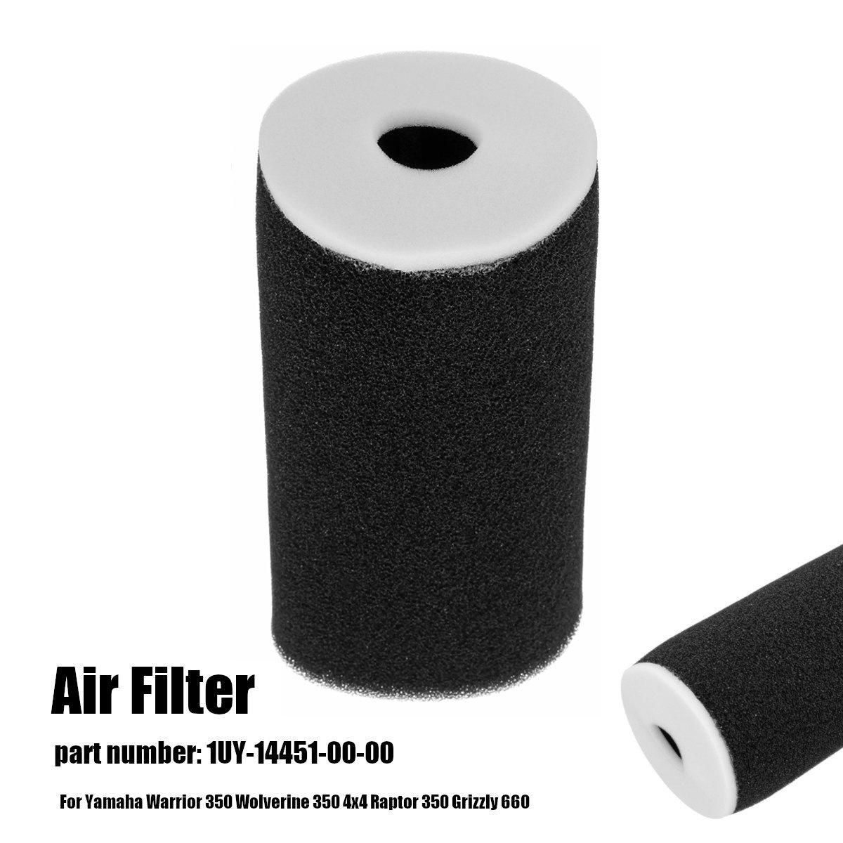 OEM Yamaha Air Filter Cleaner  1UY-14451-00-00 Warrior YFM350 Raptor Grizzly