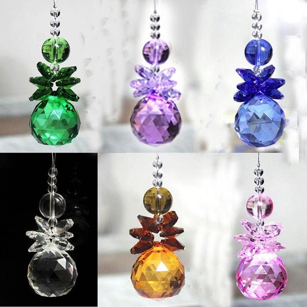 rainbow, Decor, Jewelry, crystalprismpendant